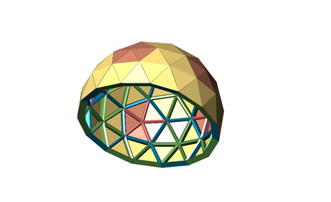 Dirk Bertels - Animating a geodesic dome